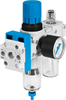 FRC-1/4-DB-7-MINI-KC Filter/Regulator/Lubricator Unit -- 8002801 - Image