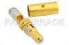 D-Sub Plug Contact Solder Attachment For RG58, RG141, RG303 -- PE4812 -Image