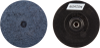Norton NorKut ZA Coarse Arbor Thread Quick-Change Polymer Disc -- 63642503657 - Image
