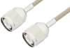 HN Male to HN Male Cable 36 Inch Length Using RG141 Coax , LF Solder -- PE34434LF-36 -Image