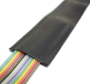 Heavy Duty Abrasion-Resistant Flat Cable Jacket, 23 Mil -- Z-Flex-VNH