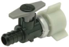 Ball Valve,PEX Swivel,1/2In,Plastic -- 10A617