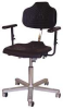 Stool,Low Profile,w/Casters,Armrest -- 20H854