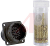 CONNECTOR,BOX MOUNTING RECEPTACLE,CLASSE,SIZE 16,26 #20 CRIMP PIN CONTACT -- 70009910 - Image
