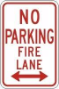 Accuform No Parking Signs -- sf-19-804-482 - Image