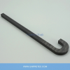 Si3N4 Silicon Nitride Ceramic Hook For Hot Dip Aluminising