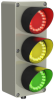 Flush Mount Indicator Lights -- EZ-LIGHT Traffic Light