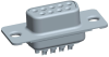 Cable Assemblies and IO cable connectors, IO cable connectors, D-Subminiature, D-Subminiature Cable Signal and Power, Contact type=Signal -- DEP09S065TLF - Image