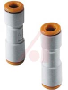 Check Valve, straight with one-touch fittings, for 6mm tube -- 70071304 - Image