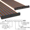 Rectangular Cable Assemblies -- A3CKB-6418M-ND -Image