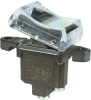 TP Series Rocker Switch, 1 pole, 2 position, Screw terminal, Above Panel Mounting -- 1TP4-6 - Image