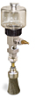 """(Formerly B1745-3X-1SS), Manual Chain Lubricator, 5 oz Polycarbonate Reservoir, 1"""" Round Brush Stainless Steel -- B1745-005B1SR3W -- View Larger Image"""