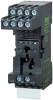 IR Relay socket modules IN: 250 V / 250 VAC/DC / 10 A -- 61300