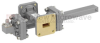 40 dB WR-51 Waveguide Crossguide Coupler with Square Cover Flange and SMA Female Coupled Port from 15 GHz to 22 GHz in Bronze -- FMWCT1054 -Image