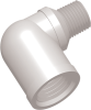 Commercial Grade Thread Standard Elbow Connector Male-Female -- AP03518MFE227P -- View Larger Image