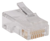 RJ45 Plug for Round Solid / Stranded Conductor Cable -- N030-100