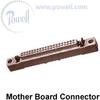 Amphenol M55302/167C52Y1 MIL-C-55302 2 Piece Printed Wiring Board Connector -- M55302/167C52Y1