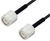 Low Loss TNC Male to TNC Male Cable Assembly using LMR-100 Coax, 4 FT with Times Microwave Components -- LCCA30152-FT4 -Image