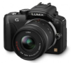 Panasonic Lumix DMC-G3K Black 16mp Mirror-less MFT Mount 3x 14-42mm Standard Zoom Lens Kit Digital Camera -- DMC-G3KK