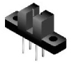 High Reliability Optical Interrupter 3mm Gap with Mounting Tabs -- H21A1 - Image
