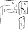 Door & Gate Latch -- 89486