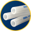 SILBRADE® Platinum Cured Braid Reinforced Silicone Hose