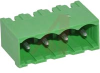 Terminal Block Header; 4; Vertical; 0.2in.; 0.85 in.; Polyamide 6.6 (Housing) -- 70077326