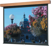 Square Format Manual Wall or Ceiling Projection Screen -- Square Format