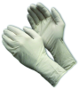 PIP Cleanteam 100-333000 Off-White Medium Nitrile Disposable Cleanroom Gloves - Class 100 Rating - Rough Finish - 12 in Length - 616314-16677 -- 616314-16677 -Image