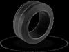 OA Series Press-On Rubber Wheels