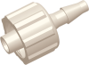 Locking Male Barb to Luer Male Straight Connector -- AP12MLFT18N