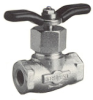 Needle and Gauge Valves -- 110 Gauge Shutoff Valve - Image