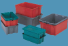 Orbis Stack and Nest Fiberglass Pans, Covers, and Dollies -- 49110