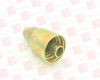 PARKER 10343-8-8 ( PARKER, FITTINGS DIVISION, 10343-8-8, 1034388, P-10343-8-8, P1034388, JIC 37 DEGREE FITTINGS, PARKER SERIES: 10343, MALE-RIGID-STRAIGHT, SAE J514, 3/4 INCH X 16 INCH THREAD, 1/2 ...