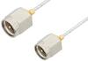 SMA Male to SMA Male Cable 12 Inch Length Using PE-SR047FL Coax -- PE34186-12 -Image