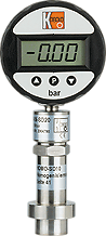 Digital vacuum pressure gauge
