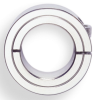 Chrome Plated One Piece Steel Clamps Collars -- 7L002P11 - Image