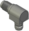 Honeywell Harsh Application Aerospace Proximity Sensor, HAPS Series, Right angle cylindrical threaded form factor, 2,50 mm/3,50 range, 3-wire open collector output normally open, EN2997Y10803MN termin -- 1PRTD3CCN1-000 -- View Larger Image