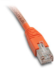 ETHERNET CROSSOVER PATCH CABLE, CAT5E STP, 10 (3.0m), ORANGE -- C5E-STPOR-C10 - Image