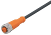 Connecting cable with socket -- EVC601 -Image