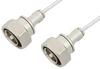 7/16 DIN Male to 7/16 DIN Male Cable 72 Inch Length Using PE-SR402FL Coax -- PE36144LF-72 -Image