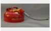 Eagle Red 1 gallon Safety Can - 048441-00845 -- 048441-00845