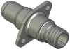 Honeywell Harsh Application Aerospace Proximity Sensor, HAPS Series, Inline cylindrical flanged form factor, 2,50 mm/3,50 range, 3-wire open collector output normally open, D38999/25YA98PN termination -- 1PCFD3CANN-000 -Image