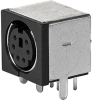6-pole, Socket, PCB terminals, DIN Plug/Socket -- 4850.2610 -Image