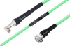 Temperature Conditioned SMA Male Right Angle to TNC Male Right Angle Low Loss Cable 100 cm Length Using PE-P300LL Coax -- PE3M0234-100CM -Image