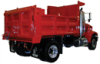Heavy duty dump body -- HS
