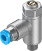 GRLA-M5-QS-3-D One-way flow control valve -- 193137