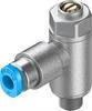 GRLA-M5-QS-3-D One-way flow control valve -- 193137-Image