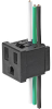 NEMA line Outlet 5-15R, Snap-in Mounting, Front Side, IDC- or Quick-connect Terminal -- NR010 -- View Larger Image