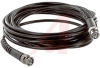 Cable Assy; 240 in.; 20 AWG; RG58C/U; Non Booted; Black Jacket; UL Listed -- 70197929 - Image